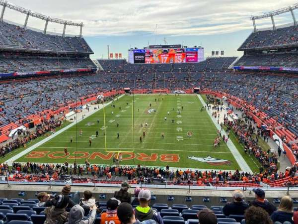 Empower Field at Mile High Stadium, section: 322, row: 8, seat: 10
