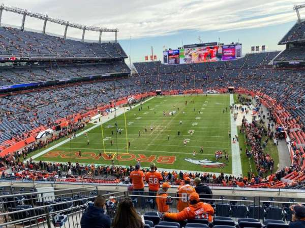 Empower Field at Mile High Stadium, section: 321, row: 10, seat: 12