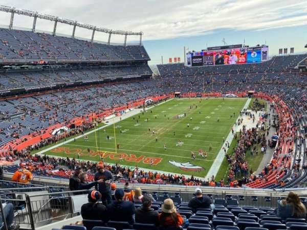 Empower Field at Mile High Stadium, section: 320, row: 13, seat: 14