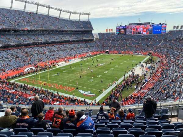 Empower Field at Mile High Stadium, section: 319, row: 13, seat: 11
