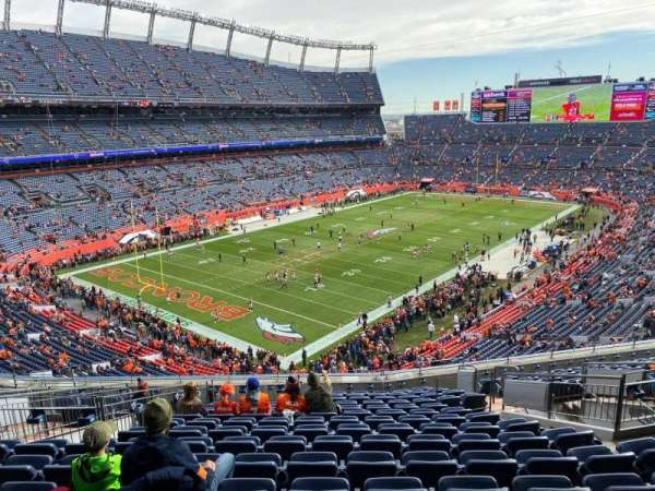 Empower Field at Mile High Stadium, section: 318, row: 15, seat: 10