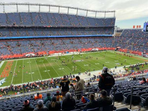 Empower Field at Mile High Stadium, section: 313, row: 17, seat: 2