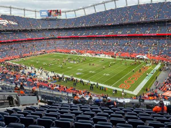 Empower Field at Mile High Stadium, section: 313, row: 13, seat: 9