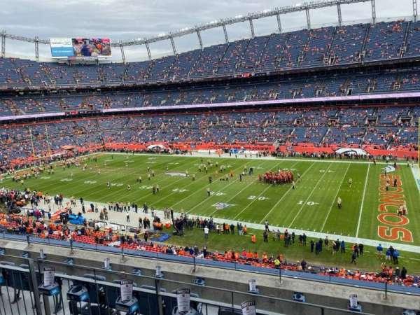 Empower Field at Mile High Stadium, section: 304, row: 6, seat: 5