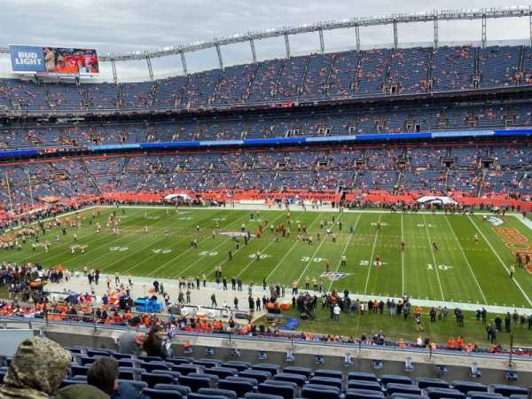 Empower Field at Mile High Stadium, section: 306, row: 9, seat: 3