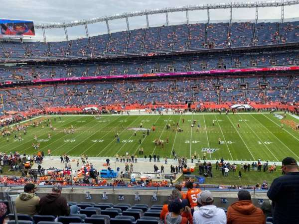 Empower Field at Mile High Stadium, section: 307, row: 8, seat: 7