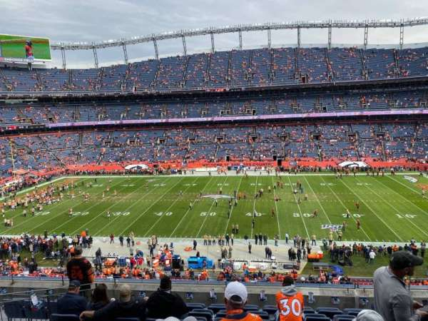 Empower Field at Mile High Stadium, section: 308, row: 9, seat: 5