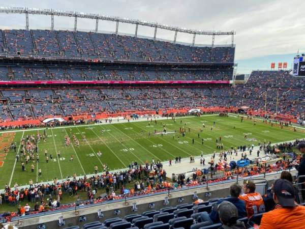 Empower Field at Mile High Stadium, section: 313, row: 8, seat: 7