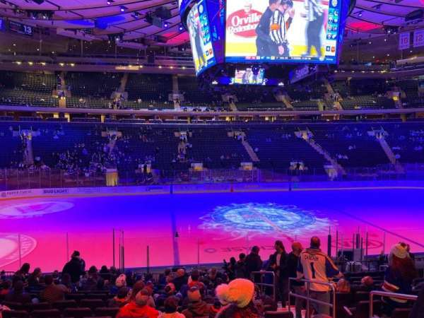 Madison Square Garden, section: 106, row: 14, seat: 17