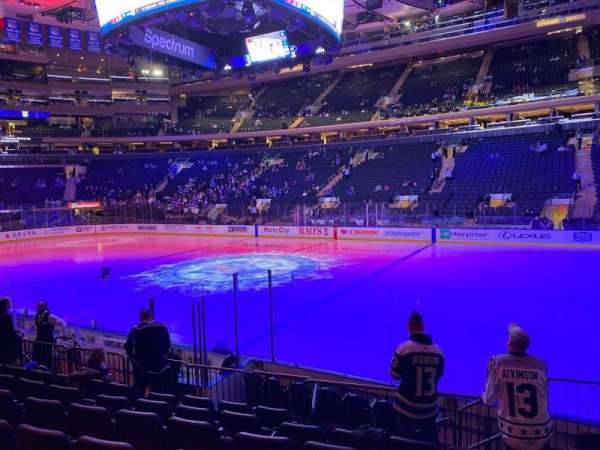 Madison Square Garden, section: 108, row: 7, seat: 19