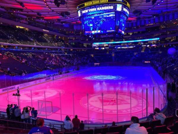 Madison Square Garden, section: 113, row: 12, seat: 10