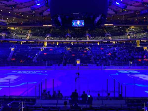 Madison Square Garden, section: 117, row: 10, seat: 10