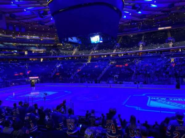 Madison Square Garden, section: 118, row: 14, seat: 14