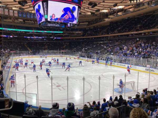 Madison Square Garden, section: 101, row: 10, seat: 5