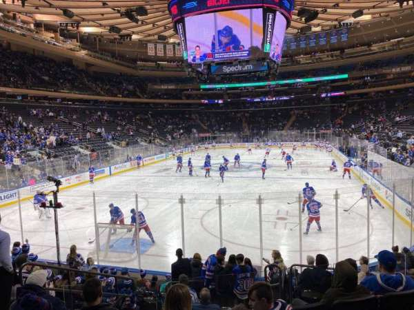 Madison Square Garden, section: 103, row: 10, seat: 5