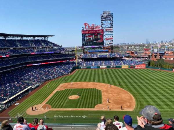 Citizens Bank Park, section: 315, row: 8, seat: 9