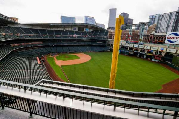 Minute Maid Park, section: Mic