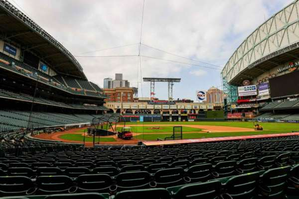 Minute Maid Park, section: 122, row: 18, seat: 20