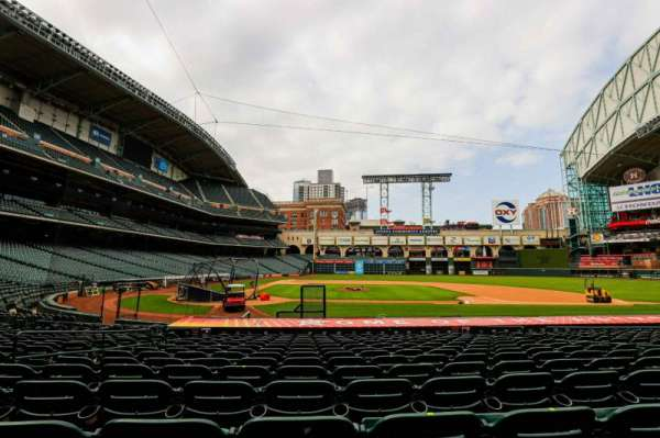 Minute Maid Park, section: 124, row: 18, seat: 6