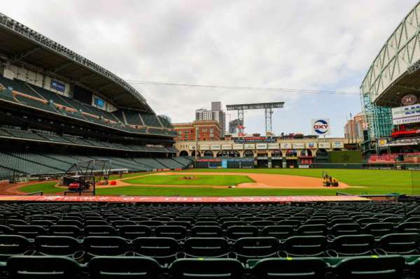 Minute Maid Park, section: 125, row: 18, seat: 8