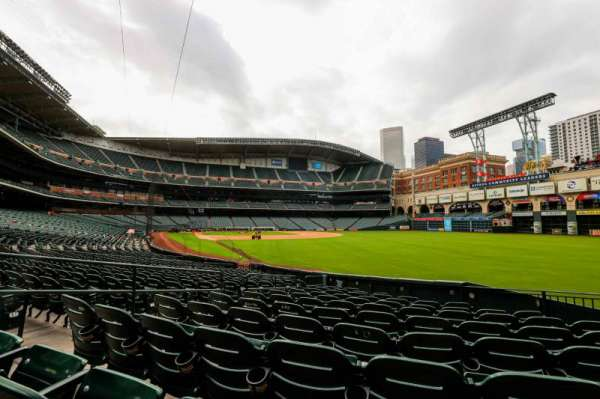 Minute Maid Park, section: 134, row: 19, seat: 6