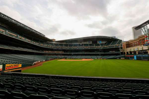 Minute Maid Park, section: 153, row: 11, seat: 10