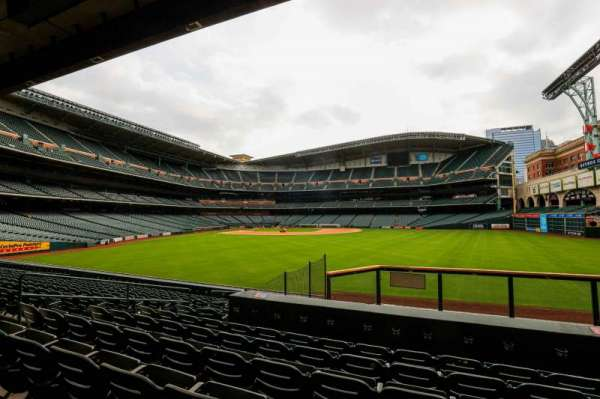 Minute Maid Park, section: 155, row: 13, seat: 10