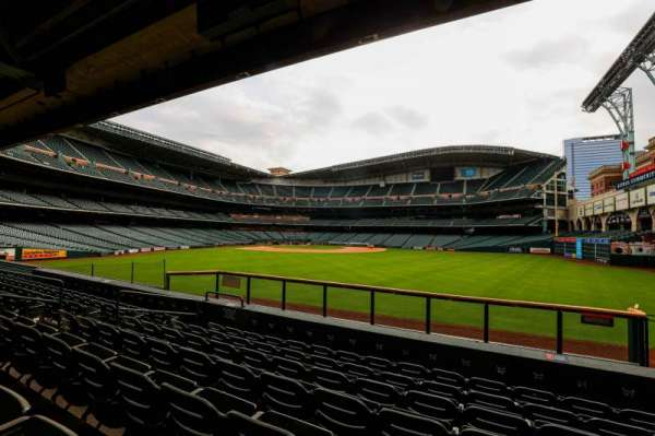 Minute Maid Park, section: 156, row: 13, seat: 10