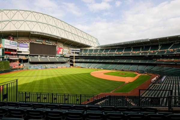 Minute Maid Park, section: 205, row: 4, seat: 8