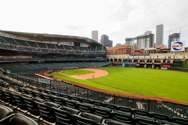 Minute Maid Park, section: 231, row: 5, seat: 10