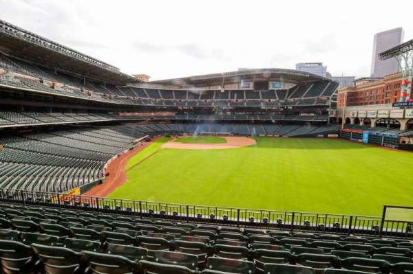 Minute Maid Park, section: 252, row: 6, seat: 13