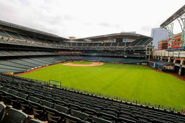 Minute Maid Park, section: 255, row: 8, seat: 12