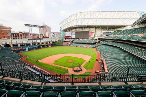 Minute Maid Park, section: 317, row: 4, seat: 11