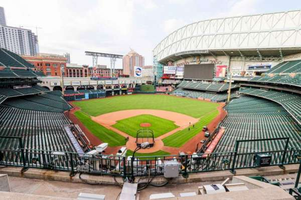 Minute Maid Park, section: 319, row: 3, seat: 7