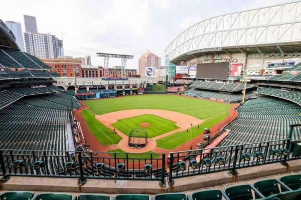 Minute Maid Park, section: 320, row: 3, seat: 8