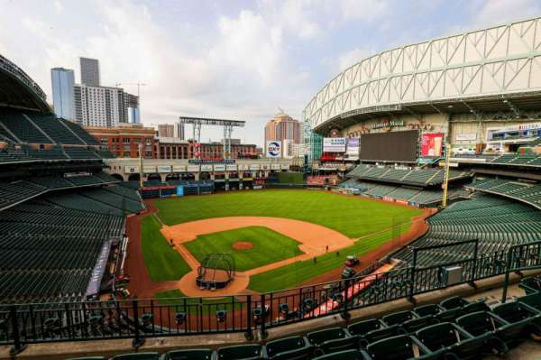 Minute Maid Park, section: 321, row: 3, seat: 8
