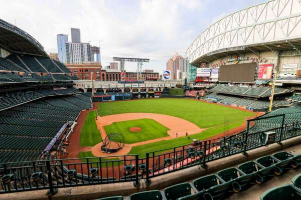 Minute Maid Park, section: 322, row: 4, seat: 7