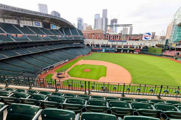 Minute Maid Park, section: 325, row: 4, seat: 9