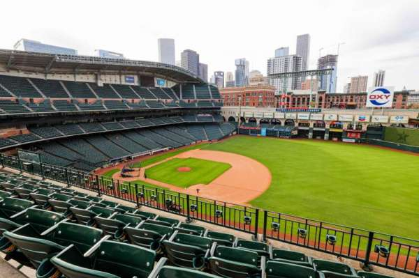 Minute Maid Park, section: 328, row: 5, seat: 10