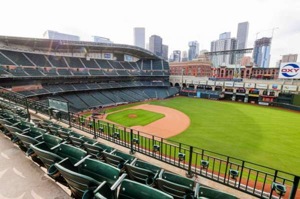 Minute Maid Park, section: 329, row: 3, seat: 7