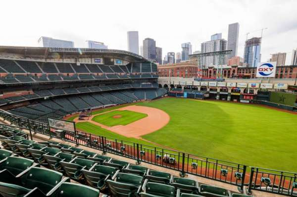 Minute Maid Park, section: 330, row: 5, seat: 10