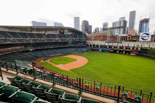 Minute Maid Park, section: 331, row: 4, seat: 7
