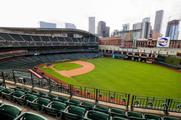 Minute Maid Park, section: 332, row: 5, seat: 8