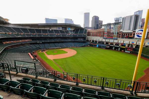 Minute Maid Park, section: 333, row: 4, seat: 7