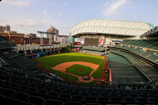 Minute Maid Park, section: 417, row: 8, seat: 10