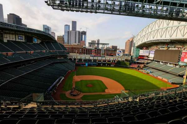 Minute Maid Park, section: 423, row: 9, seat: 8