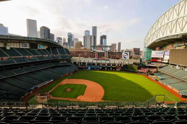 Minute Maid Park, section: 427, row: 10, seat: 10