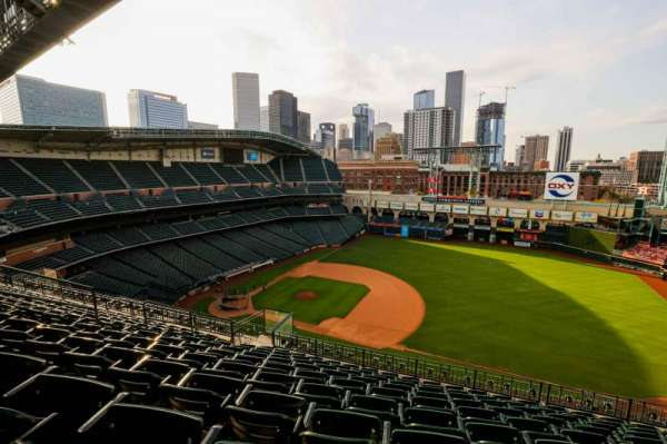 Minute Maid Park, section: 428, row: 10, seat: 10