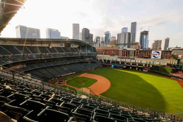 Minute Maid Park, section: 429, row: 10, seat: 8