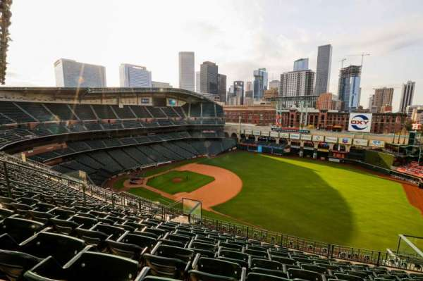 Minute Maid Park, section: 430, row: 9, seat: 9